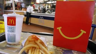 Nichts zu Lachen: Fastfoodketten-Mitarbeiter streiken (Symbolbild)