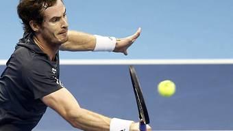 Andy Murray setzte sich gegen David Ferrer durch