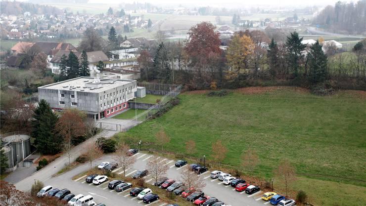 Rund 130 Wohnungen sollen zwischen dem Gisihübeli und der ehemaligen Strafanstalt gebaut werden. Felix Gerber