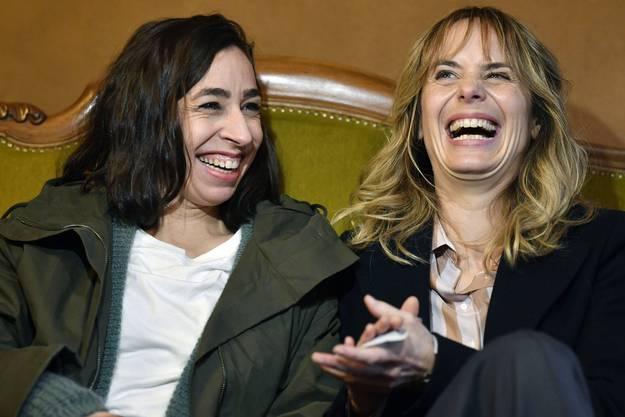 Carol Schuler, links, und Anna Pieri, rechts, das neue Schweizer Tatort-Duo.