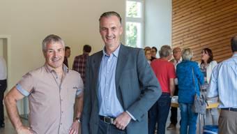 Hans Peter Dössegger (links) und Erich Lüdi.