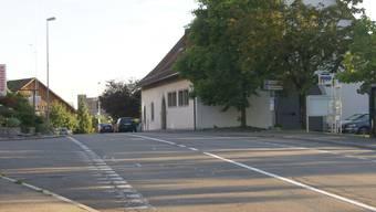 Die Zehntenschüür an der zu sanierenden Kantonsstrasse in Oberrohrdorf.