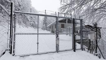 Der Eingang zur ehemaligen Bloodhound-Flab-Stellung auf dem Hellchöpfli bei Rumisberg