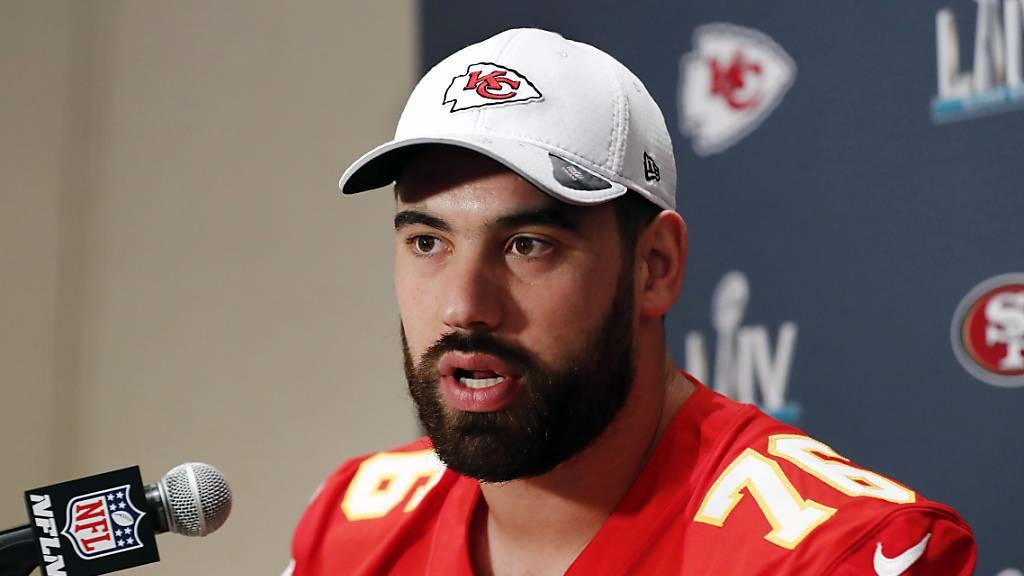 Laurent Duvernay-Tardif von den Kansas City Chiefs will sich in den nächsten Monaten um Patienten kümmern statt in der NFL spielen