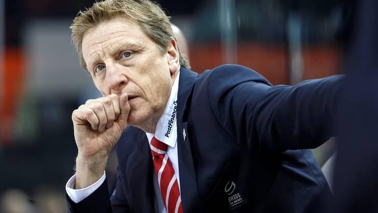 Glen Hanlon steht vor seiner ersten Eishockey-WM als Headcoach der Schweizer Nationalmannschaft¨.