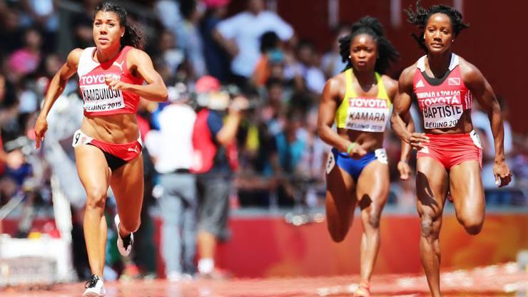 Mujinga Kambundji soll bald den eigenen Schweizer Rekord wieder unterbieten.