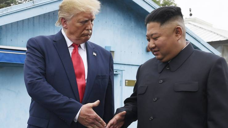 US-Präsident Donald Trump schickt seinen Sondergesandten für Nordkorea nach Asien, um wieder Schwung in die Gespräche mit dem kommunistischen Land unter der Führung von Diktator Kim Jong Un zu bringen. (Archivbild)