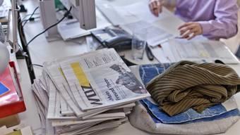 Redaktion der Wochenzeitung WoZ in Zürich (Archiv).
