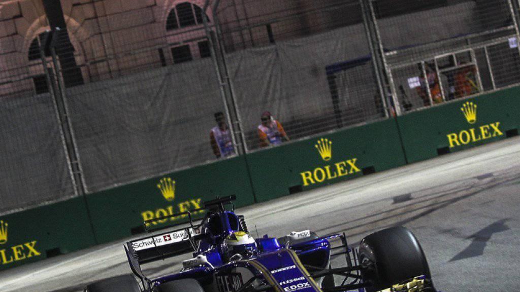 Beim GP von Sepang übernimmt Charles Leclerc zumindest im Training das Steuer des C36