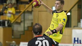 Babak (oben) erzielte für die St. Galler sechs Treffer (Archiv)