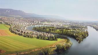 Nur wenn der Solothurner Stadtmist dereinst totalsaniert werden muss, hat die Wasserstadt wohl Chancen auf die Realisierung.
