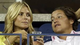 Heidi Klum (41) und Vito Schnabel (28) beim letzten US Open