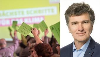 Severin Lüscher ist der einzige Grüne, der Franziska Roth beerben will. Am Donnerstag muss ihn seine Partei nominieren, soll er in den Wahlkampf steigen dürfen.