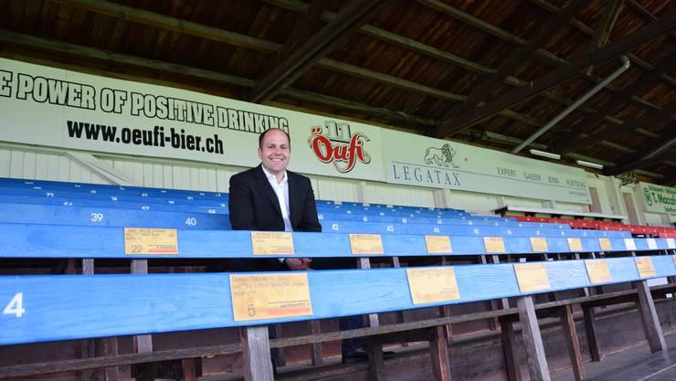 Vor seinem Rücktritt im kommenden Jahr würde Präsident Samuel Scheidegger gerne noch den Aufstieg des FC Solothurn in die Promotion League erleben.