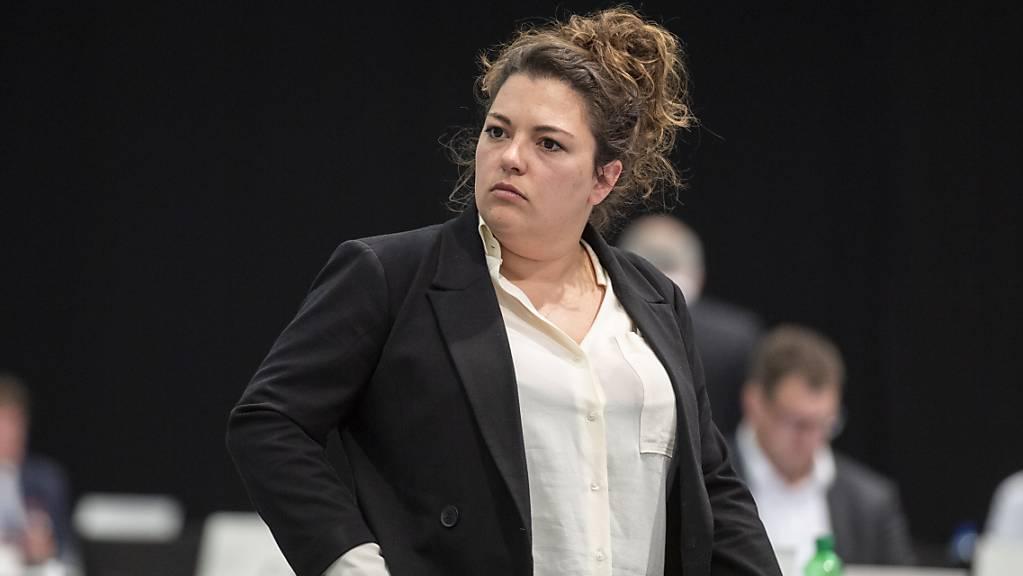 Wegen Differenzen mit der Netzcourage-Geschäftsführerin Jolanda Spiess-Hegglin: Die Berner SP-Nationalrätin Tamara Funiciello tritt aus dem Co-Präsidium zurück. (Archivbild)