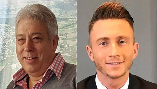 Ralf Weber (FDP, rechts) fehlten im ersten Wahlgang nur 5 Stimmen. Andreas Mäder (SVP) hatte im November noch nicht kandidiert.