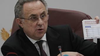 Witali Mutko ist eine langjähriger Weggefährte von Russlands Präsident Wladimir Putin
