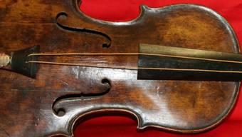 Die Echtheit der Violine wurde bewiesen
