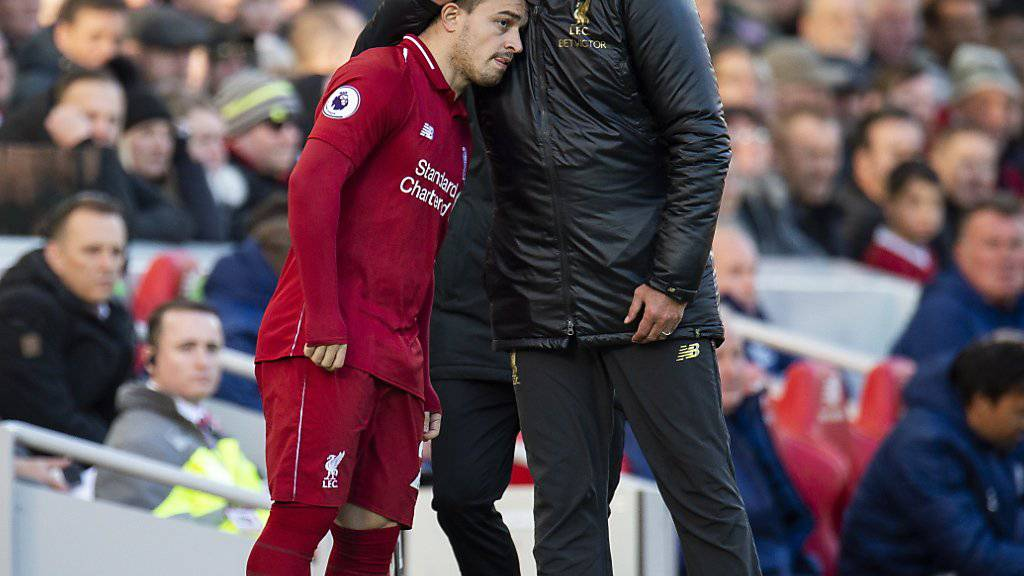 Xherdan Shaqiri und Jürgen Klopp treten mit Liverpool als Favorit zum Champions-League-Final gegen Tottenham Hotspur an