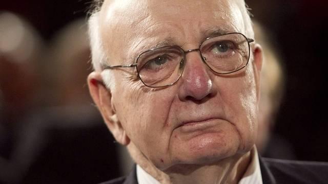 Grosses Lob für die Schweiz: US-Ökonom Paul Volcker (Archiv)