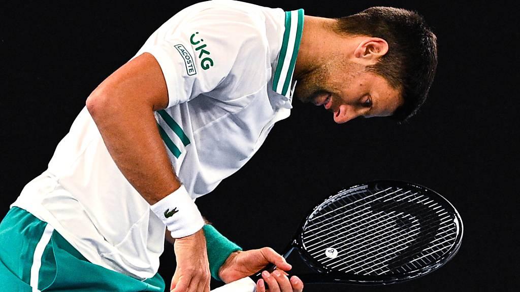 Novak Djokovic offenbar nicht ernsthaft verletzt