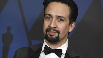 Lin-Manuel Miranda wird bald mit einem Hollywood-Sternchen geehrt werden. (Archivbild)