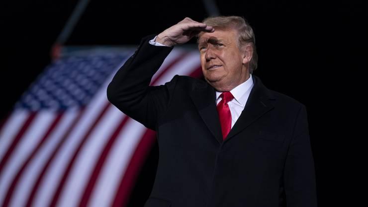 Wohin solls gehen, Herr Präsident? Donald Trump führt das Land in seinen letzten Tagen im Amt in eine gefährliche Richtung.