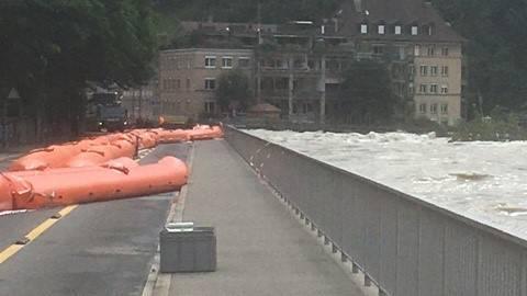 Hochwasser-Pegel steigen