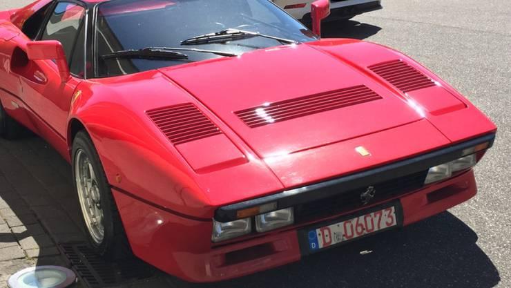 Seltenes Exemplar: der Ferrari 288 GTO aus dem Jahr 1985.
