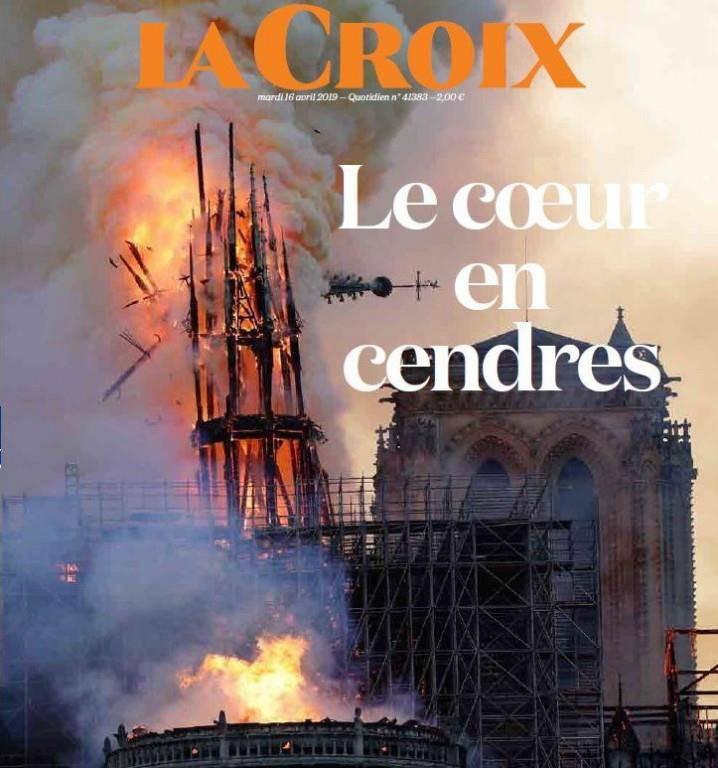La Croix: «Das Herz in Aschen»