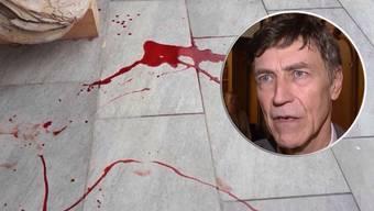 Blutanschlag auf Luzi Stamm