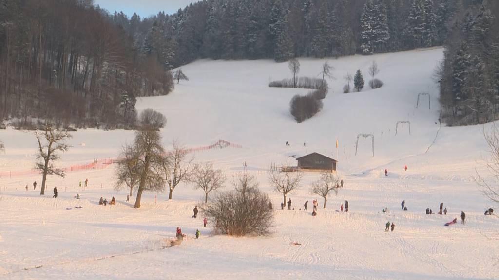 Zürcher Skigebiete ab Samstag wieder offen