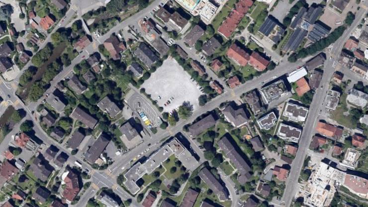 Die Oberdorfstrasse musste gesperrt werden.