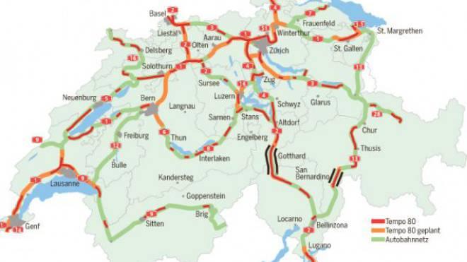 Auf 450 Autobahn-Kilometern ist Tempo 80 geplant.