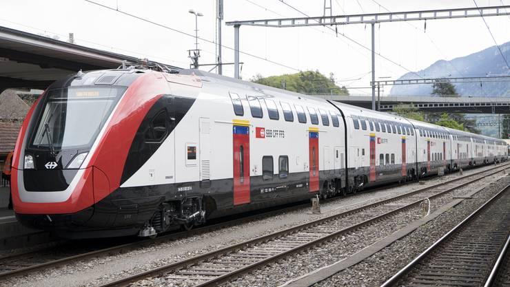 Der neue Doppelstöcker-Zug der SBB, der SV-Dosto