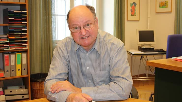 Urs Bentz war bis Anfang 2012 Leiter der Sozialen Dienste in Solothurn. ww
