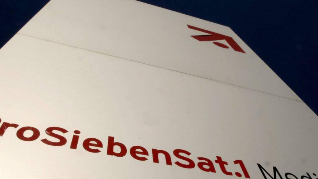 Der Fernsehkonzern ProSiebenSat.1 erwartet in den kommenden Jahren ein langsameres Umsatz- und Gewinnwachstum als in der Vergangenheit. (Archiv).