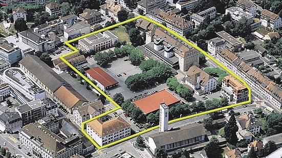 Die SP will das Gebiet mitten in Aarau der Bevölkerung zugänglich machen. Abteilung Militär und Bevölkerungsschutz