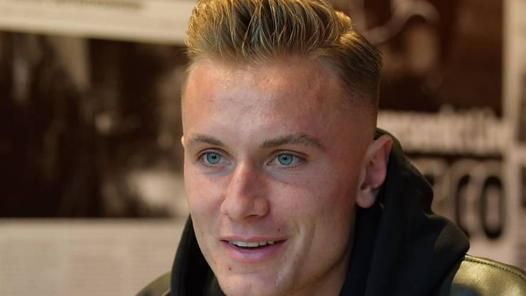 Spielt FCB-Spieler Jasper van der Werff am Sonntag gegen seinen Jugendklub, den FC St.Gallen?