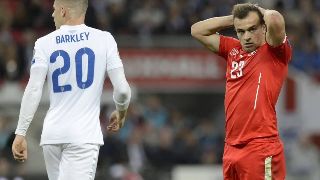 Shaqiri konnte gegen England nicht überzeugen