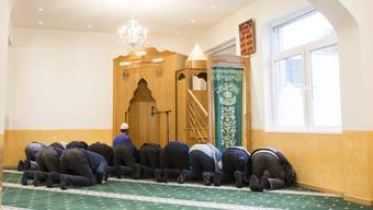 Die Moschee in Gebenstorf. Im November 2017 luden die Verantwortlichen zum Tag der offenen Tür ein.