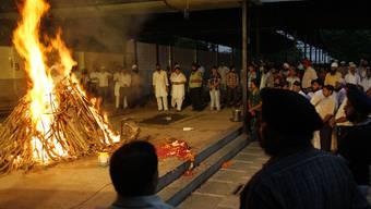 Totenritual des bei den Anschlägen verstorbenen Amanpreet Singh Jolly (Archiv)