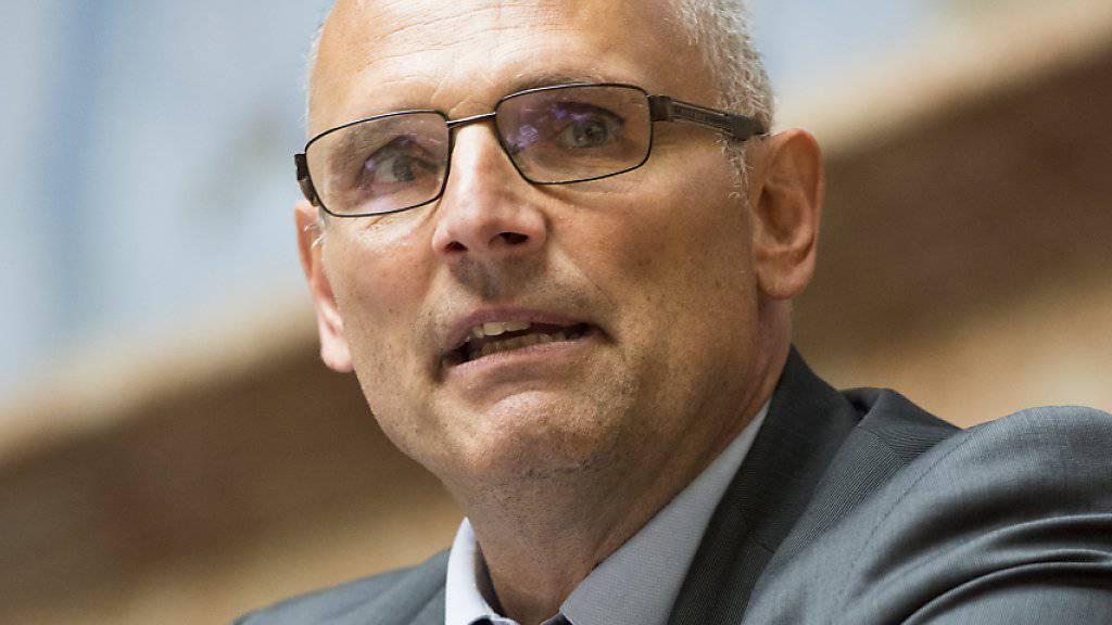 Will in den Ständerat: der Züricher SVP-Nationalrat Alfred Heer. (Archivbild)