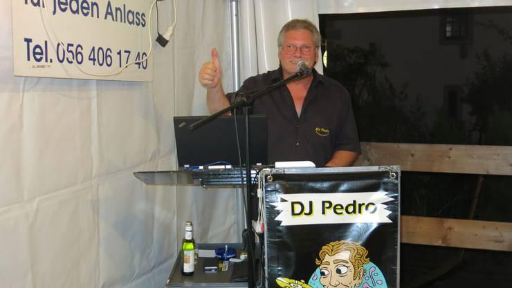 DJ Pedro sorgte für viel Stimmung