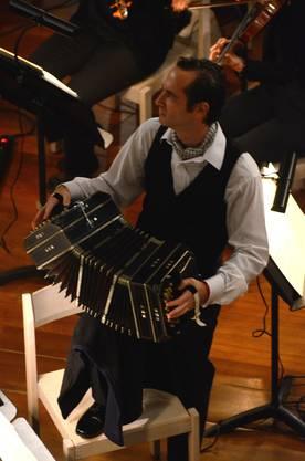Höhepunkt war der Solo-Bandoneonist Luciano Jungman