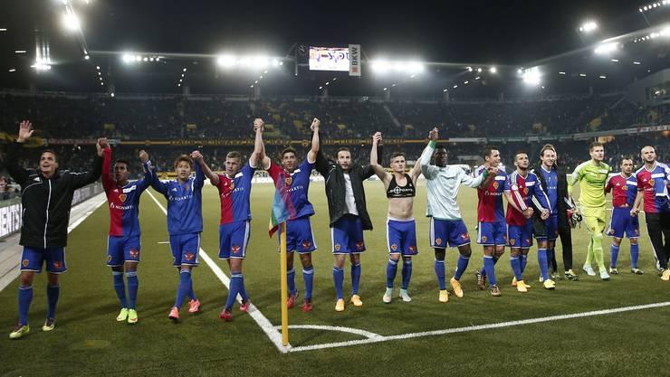 FCB-Spieler lassen sich feiern – auch im Frühjahr gegen Porto?