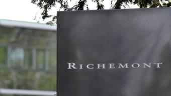 Hat erneut zugelegt: Der Luxusgüterkonzern Richemont (Archiv)