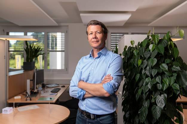 Jürg Fischer, 52, leitet das RAV in Wattwil SG seit 15 Jahren.