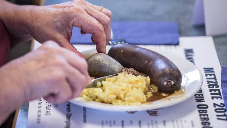 Die Metzgete in Obergösgen findet zum 20. Mal statt. (Archivbild)