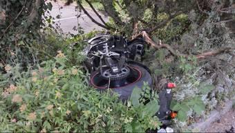 Raserrennen in Würenlingen: Motorradfahrer nach Unfall schwer verletzt. TeleM1-Bericht vom August 2018.